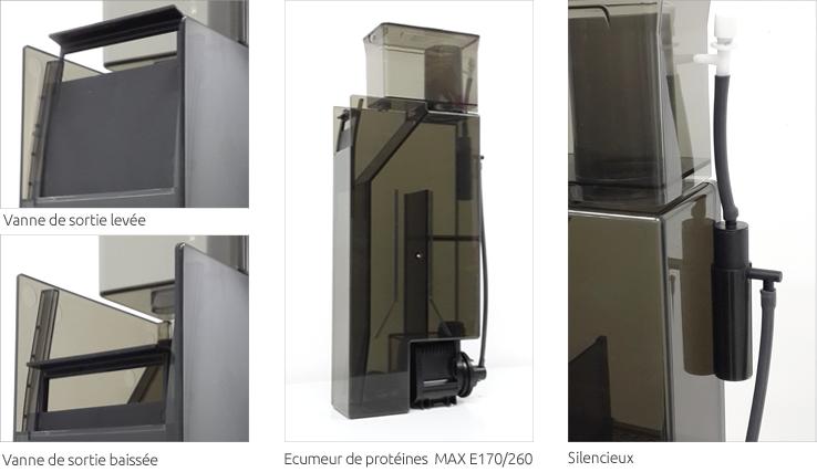 Ecumeur de protéines des MAX®E-Series