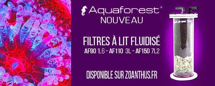 Filtre à lit fluidisée Aquaforest AF90, AF110 et AF150